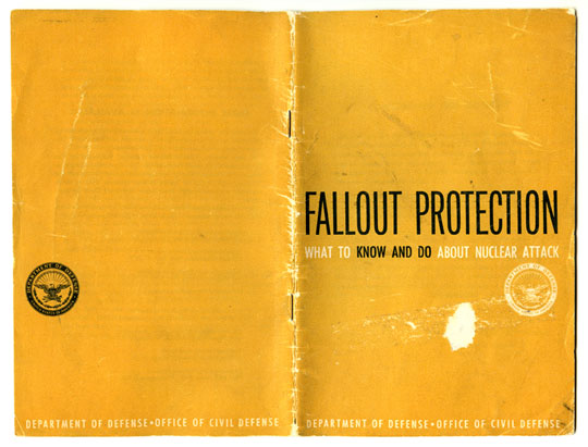 Fallout Protection Booklet