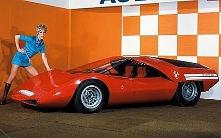 Abarth 2000 - Design by Pininfarina