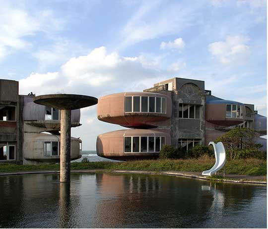 San Zhi UFO Houses