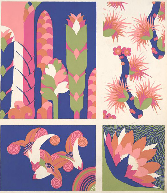 Graphic Floral Patterns